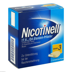 Nicotinell 17.5MG 24 Stunden Pflaster TTS10